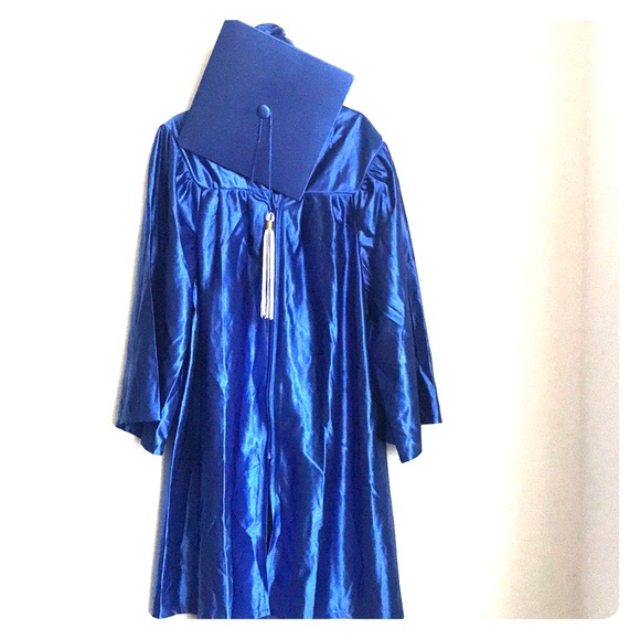 happy graduates Other | Kids Graduation Gown Royal Blue | Poshmark
